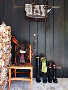 I love english horseback riding, and I'm quite smitten with this equestrian style entry.