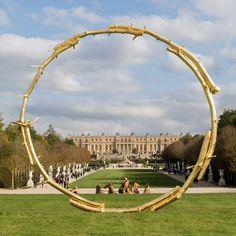 2017 The Sun by Ugo Rondinone at Chateau de Versailles France www.bullesconcept.com