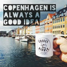 Drinking #coffee in #copenhagen is always a good idea! #coffeerivals #coffeemoment #koffie #roadtrip #koffiemoment
