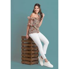 72b46274b9acf Off shoulder top is most in demand now a days. Chiffon fabric that is more.  folle