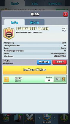 Come my clan!
