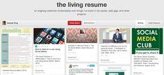 Social Media | the living resume