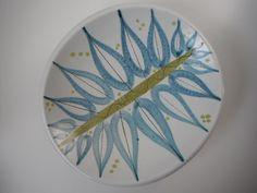 Gustavsberg Sweden Stig Lindberg Fajance Decorative Dish on Etsy, $225.00