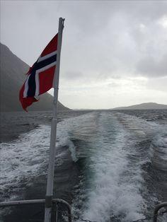Norwegian ferry, Lofoten Islands