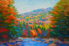 Swift River Near Rocky Gorge by Brian Kiernan