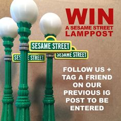 Something we liked from Instagram! Calling all Sesame Street fans! Last chance to win a miniature SS lamppost (shown here). You've gotta tag our previous post (boy wearing a Captain America tshirt standing in front of SS lamppost) and be a Tooth  Nail follower. Good luck!  #3d #3dprinting #3dart #3dprinter #zbrush #3dprint #pic #picoftheday #photooftheday #arewethereyet #digitalart #art  #photo #creative #creation #makerbot #brooklyn #nyc #marketing #advertising #losangeles #fun #sculpture…