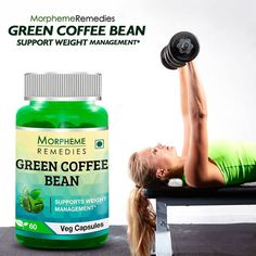 Morpheme Remedies Green Coffee Beans For Weight Management.