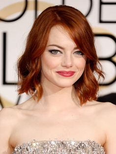 Emma Stone's Golden Globes Makeup: The Scoop From Her Makeup Artist