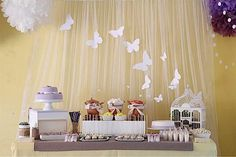 Lilac and Yellow Butterfly Birthday theme 8237007049_3462c49d81_o_600x400