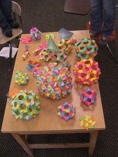 Origami spheres