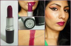 MAC Satin Rebel Lipstick Review, Swatches, LOTD