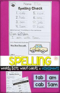 Kindergarten spellin