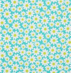 turquoise-Michael-Miller-fabric-Petal-Flower-daisy-160242-2.jpg (500×512)