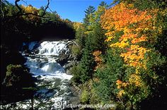 Canada, Quebec, Outaouais, Plaisance falls