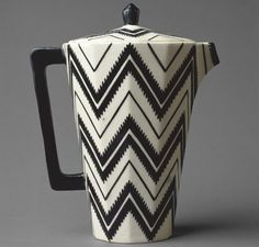 Pavel Janak, Zig Zag Coffee Pot, 1911, Metropolitan Museum of Art