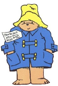 Paddington Bear!  My girls loved these.  so did my first graders...yum, marmalade sandwiches.