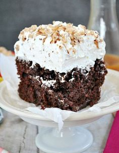 So many poke cakes, so little time. 'Quick and Easy Cakes: 13 Poke Cake Recipes' is a collection of the best poke cake recipes around, including Jello poke cakes and chocolate poke cake recipes. Yum!