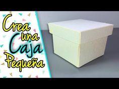 Como hacer cajita de regalo facil y rapido - Giany Fashion - YouTube