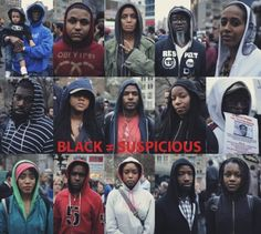::BLACK ≠ SUSPICIOUS:: Photo by J. Quazi King  Million Hoodie March for Trayvon Martin. Union Square NYC.  #millionhoodies #justicefortrayvon #UnionSqNYC    Keep the conversation alive!