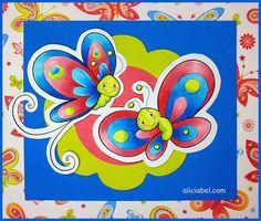 Copic Marker España: Mariposas