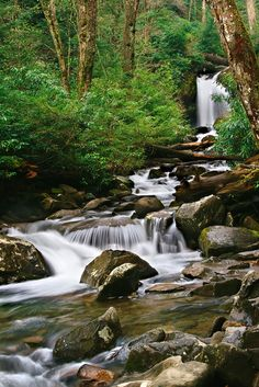 The beautiful Smoky Mountains, Tennessee