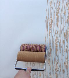 NotWallpaper featuring Patterned Paint Rollers. Our patterned paint rollers help you create a beautiful stencil like design on walls, wood, ...