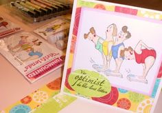 Check out these fun stamps that just arrived at our crafting store! Crafting equipment: Pigment Kunsthandel AS Craft Day, Diy Funny, Easy, Crafts, Manualidades, Handmade Crafts, Craft, Arts And Crafts, Artesanato