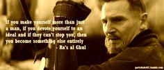 batman begins ra's al ghul quotes - Google Search