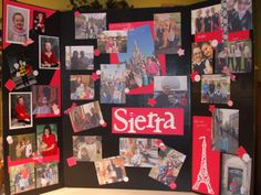 High School Graduation Party Ideas Of My Daughter S Memory Board At