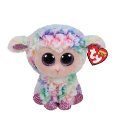 01976dcf9ad Ty Beanie Boo Small Daffodil the Lamb Plush Toy Ty Beanie Boos