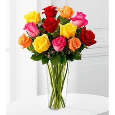 The Bright Spark Rose Bouquet for anniversary gift.