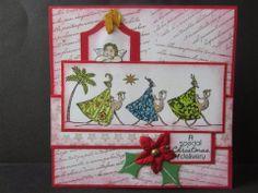 Sanne Kreativ: Weihnachten orientalisch
