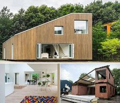 I really want a container house!