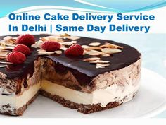 Online Fruit cake, Black Forest, Chocolate cake for your favorite one for birthday anniversary  Source: http://www.cakedeliveryindelhi.in/- authorSTREAM Presentation