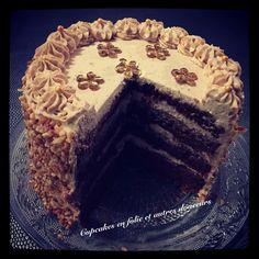 Gâteau Choco-praliné (Layer cake)
