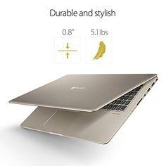 ASUS VivoBook Thin and Light Gaming Laptop, 15.6″ Full HD, Intel Core i7-7700HQ Processor, 16GB DDR4 RAM, 256GB SSD+1TB HDD, GeForce GTX 1050 4GB, backlit keyboard – M580VD-EB76