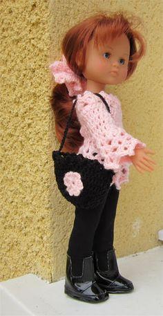 Passion Poupées: Accessoires au crochet pour Marie