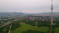 Industrieklettern Wien - mit Donaupark & Donauturm Panorama