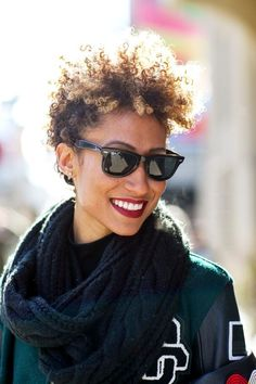Bored With Your Hair? 29 Ideas To Try In 2016 #refinery29  http://www.refinery29.com/new-beauty-routine-resolutions-2016#slide-3  Go ShorterWe love this curly crop (seen on Teen Vogue's beauty director Elaine Welteroth). Find more envy-inducing short cuts of every length and texture here. ...