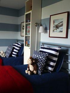 Kids' Room Color Schemes | Navy Blue | Nauvoo IL Interior Designer