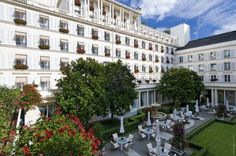 The best boutique hotels in Paris. Find a boutique hotel Paris and book with Splendia to benefit exclusive offers on a unique selection of hand picked small luxury hotels. Paris Hotels, Mondrian, Hotels And Resorts, Best Hotels, Hotel Bristol Paris, Luxury Hotel Design, Luxury Hotels, Luxury Travel, Midnight In Paris