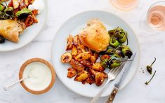 Shop local groceries for delivery in the San Francisco Bay Area. As festive as tapas, but baked on a sheet pan, this easy chicken dinner is completed with a side of smokey potatoes. They get to roast in the drippings, and Garlic Aioli, Shop Local, Weeknight Dinners, Spanish Style, Chicken Thighs, Egg Recipes, Bite Size, Bay Area, Sheet Pan