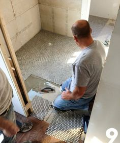 Faith & Mike's Master Bathroom: The Unexpectedly Inexpensive Heated Floor — Renovation Diary