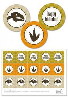 Bringing Home Ezra Free dinosaur Jurrasic Park party printables