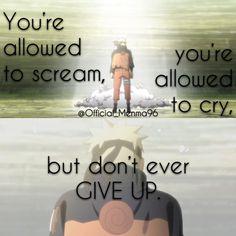 Naruto Uzumaki || Naruto Shippuden || Anime Quote