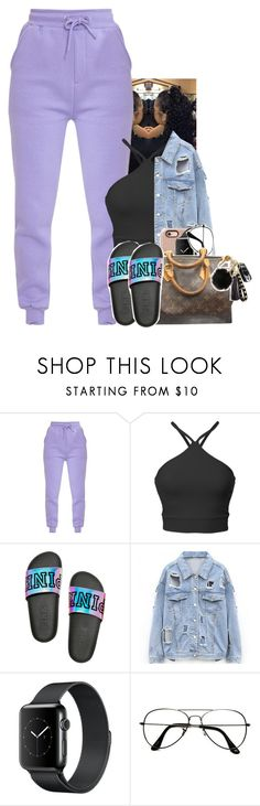 """""""Untitled #2059"""" by txoni ❤ liked on Polyvore featuring ZeroUV and Louis Vuitton"""