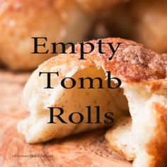 Every Easter our family makes these sweet empty tomb rolls where the marshmallow melts down to a caramel sauce that's amazing! Every Easter our family makes these sweet empty tomb rolls where the marshmallow melts down to a caramel sauce that's amazing! Easter Recipes, Holiday Recipes, Easter Food, Easter Ideas, Cookie Recipes, Dessert Recipes, Recipes Dinner, Delicious Desserts, Yummy Food