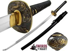 Kagemusha Wind Dragon 1095 Clay Tempered Katana