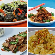 4 Creations of Squid Dishes Seafood Recipes, Chicken Recipes, Easy Cooking, Cooking Recipes, A Food, Food And Drink, Indonesian Cuisine, Malaysian Food, Dessert