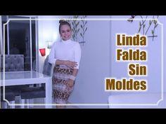 Omaira tv- DIY Linda Falda Sin Moldes - DIY Cute Skirt Without Molds